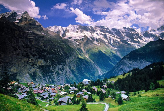 A view of murren